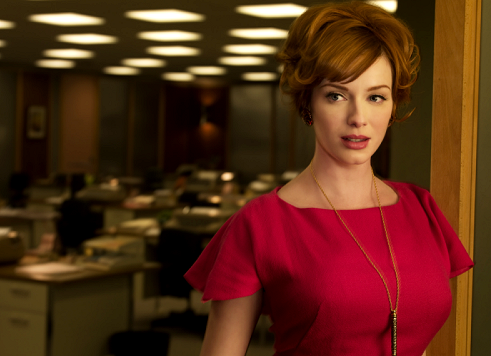 christina hendricks mad men pics. I interviewed Christina for